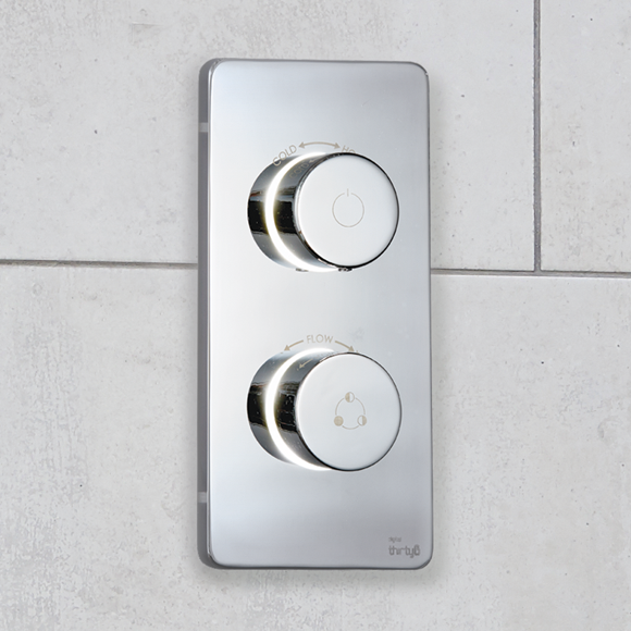 In Keeping With The Premium Thirty6 Product Collection Weu0027ve Designed Our Digital  Shower In Metal With A Chrome Finish, Bringing You A Subtly Sophisticated  ...